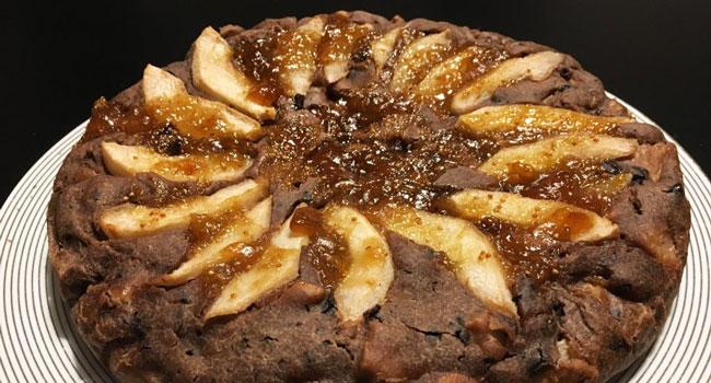 torta-pere-e-cioccolato