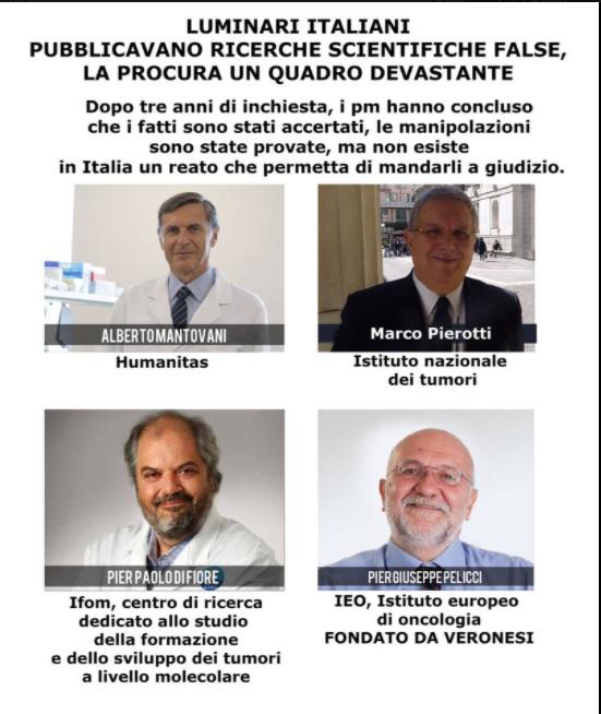luminari-italiani-pubblicavano-ricerche-scientifiche-false.-la-procura:-un-quadro-devastante
