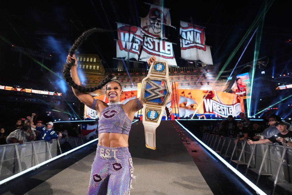 WrestleMania 37, Bianca Belair nuova campionessa di SmackDown: Bobby Lashley si conferma WWE Champion [RISULTATI]