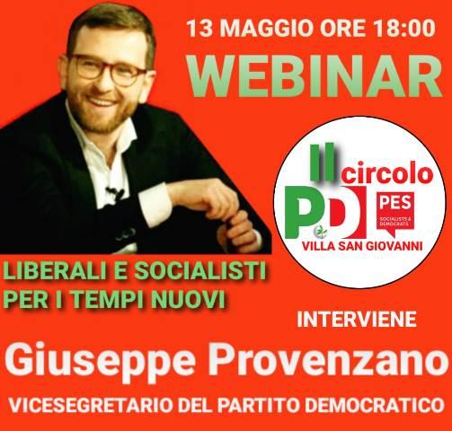 """villa-san-giovanni:-l'ex-ministro-provenzano-ospite-al-webinar-""""socialisti-e-liberali-per-i-tempi-nuovi"""""""
