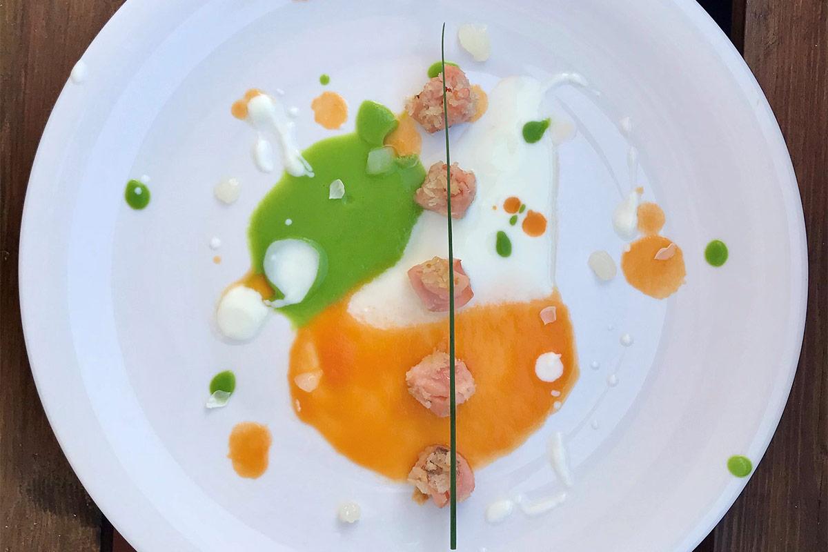trota-salmonata-in-bianco,-verde-e-arancio