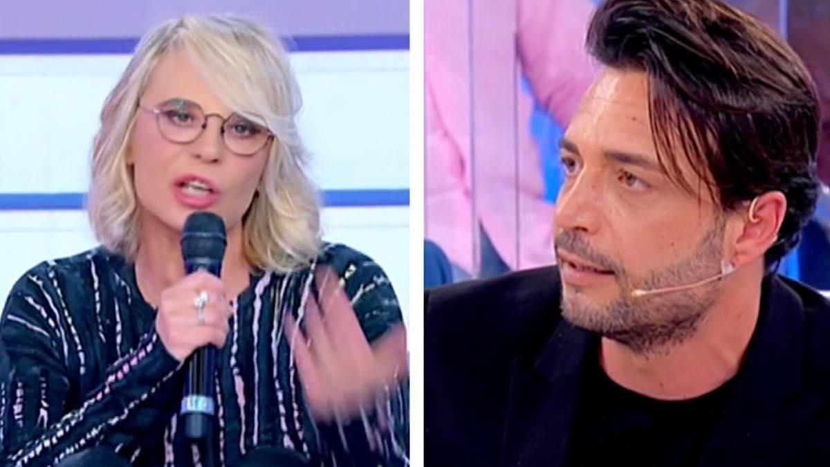 """Uomini e Donne, Maria De Filippi una furia contro Armando """"Lo so che parli male della redazione… """""""
