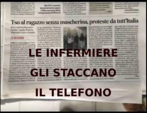 TSO allo studente di Fano: medici  requisiscono cellulare, infermiera chiude la chiamata mentre parla con l'avvocato…