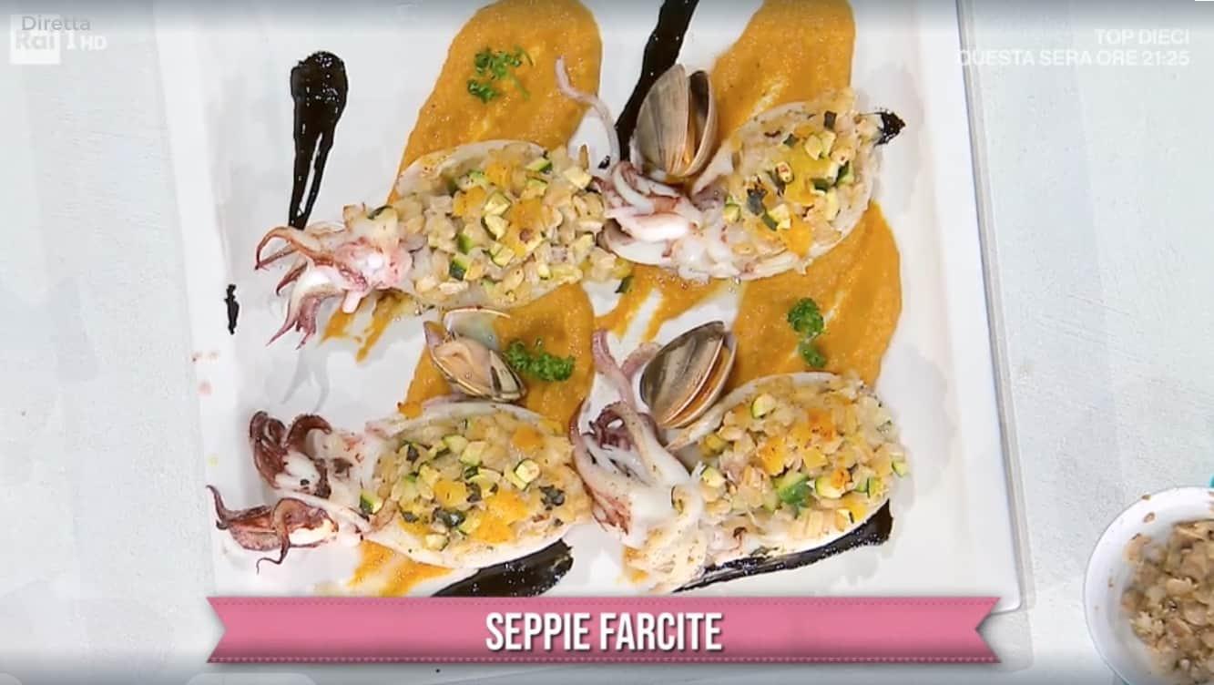 Seppie farcite, la ricetta di Antonella Ricci