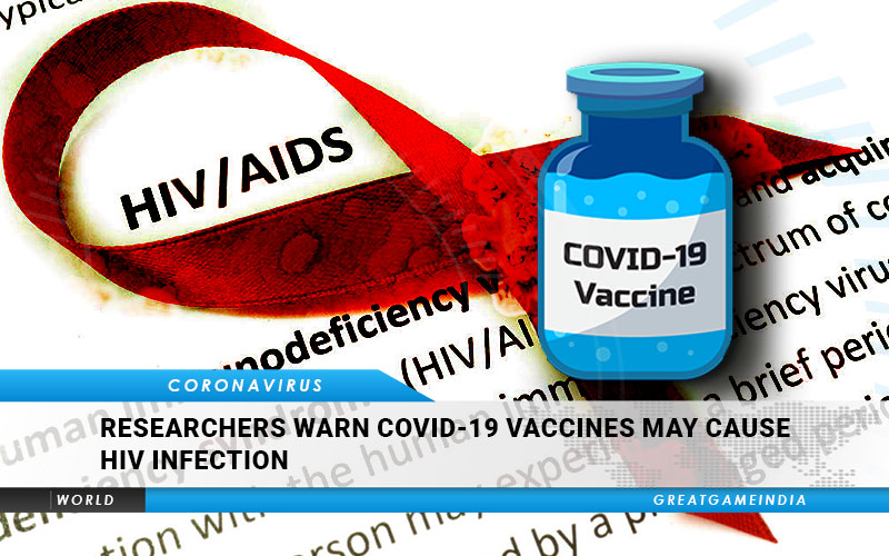 I ricercatori avvertono che i vaccini COVID 19 possono causare l'infezione da HIV