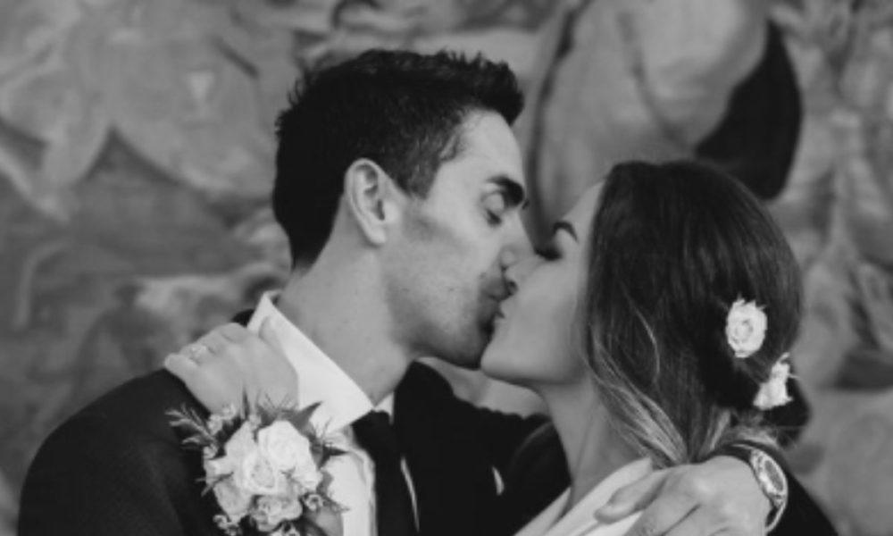 Giorgia Palmas e Filippo Magnini si sono sposati in gran segreto