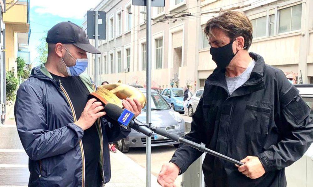 Checco Zalone vince il David, arriva il Tapiro: l'invito a Laura Pausini