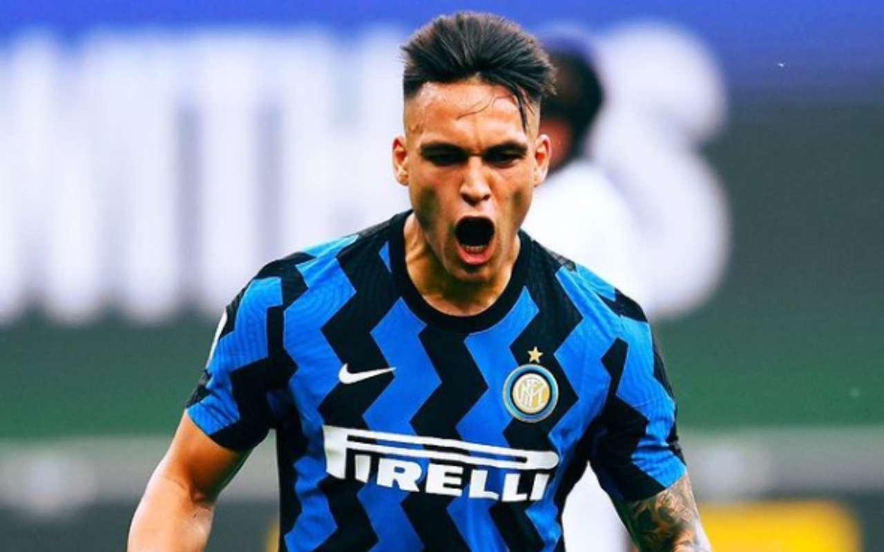 """Inter, tensione Conte Lautaro: """"Porta rispetto. Con chi ce l'hai?"""""""
