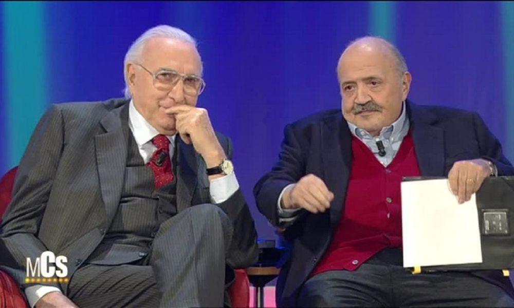 Baudo e Costanzo, scontro tra titani: Maurizio contro Pippo