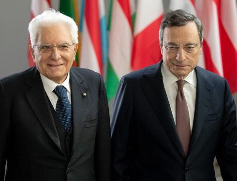L'Italia del futuro? Draghi ancora premier e Mattarella di nuovo al Quirinale