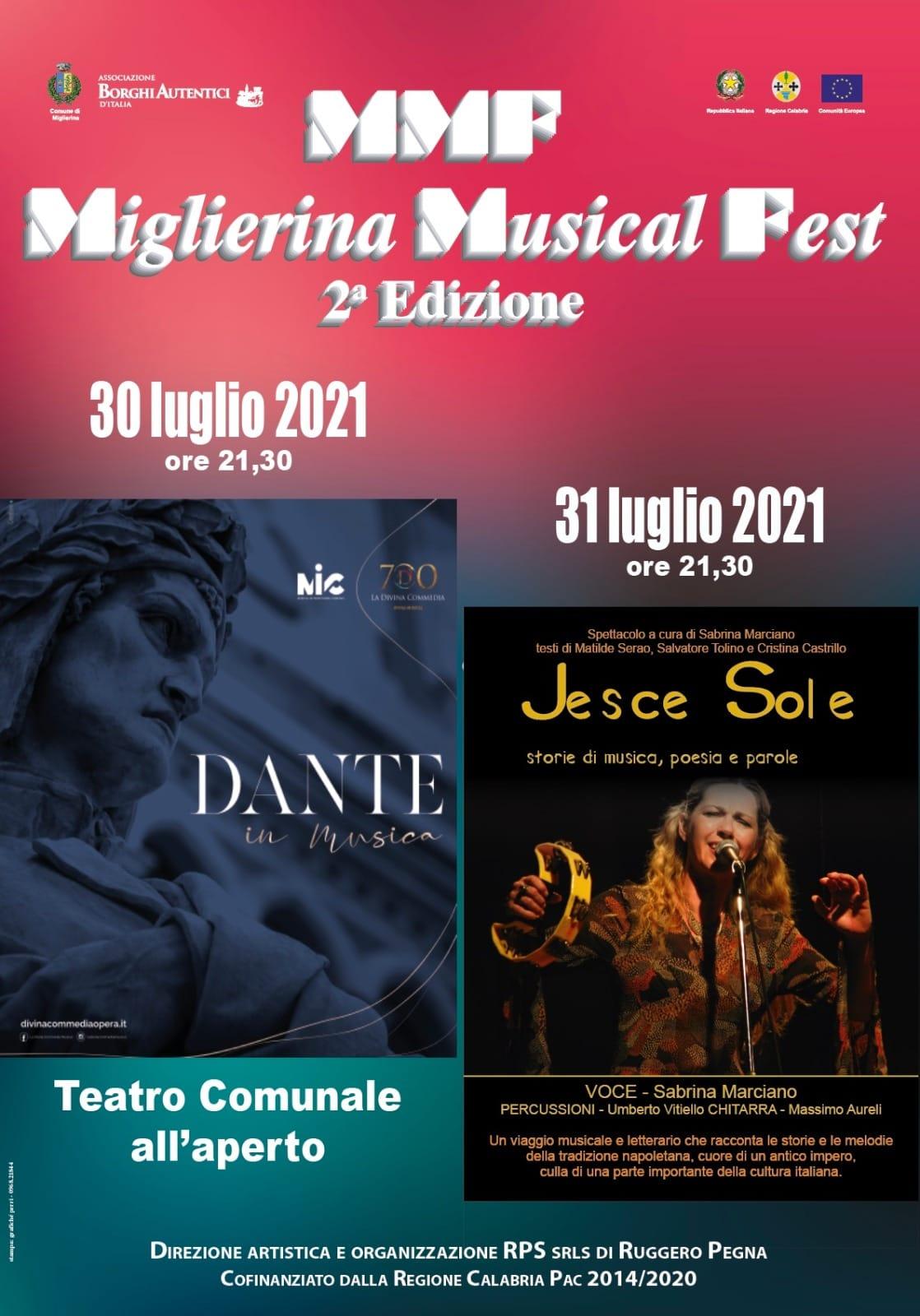 """confermato-il-""""miglierina-musical-fest""""-per-il-30-e-31-luglio-2021,-sara-celebrato-anche-dante-in-musica"""