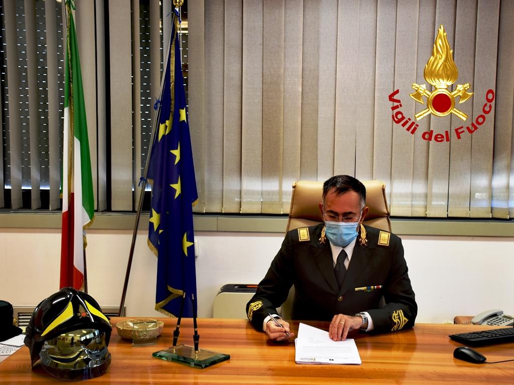 Maurizio Lucia nuovo Direttore Regionale dei Vigili del Fuoco della Calabria