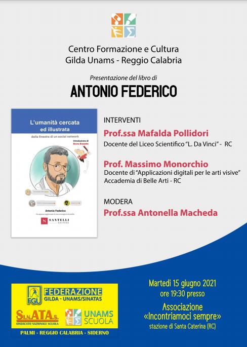 """A Reggio Calabria la presentazione del libro """"L'Umanità cercata e illustrata"""""""