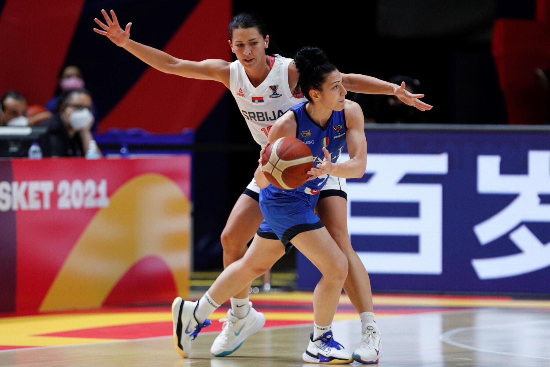 Eurobasket femminile, Italia eliminata dalla Svezia