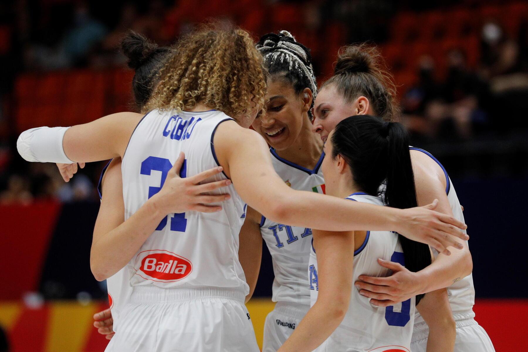 EuroBasket femminile, l'Italia batte anche la Grecia 77 67 e si qualifica al turno successivo