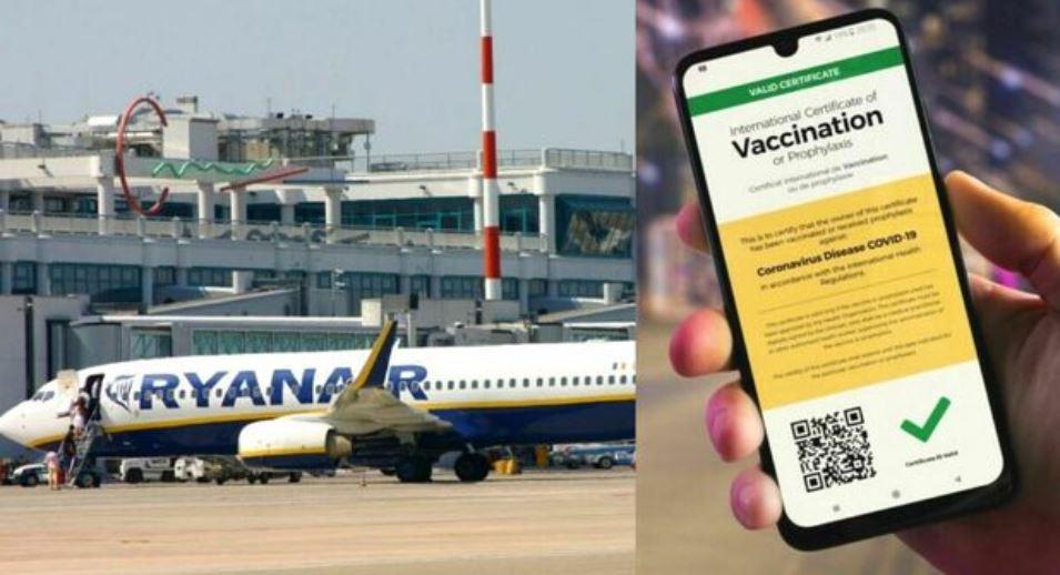 passaporto-vaccinale,-ryanair:-«sui-nostri-voli-non-sara-richiesto,-non-dovrebbero-esserci-questi-limiti»