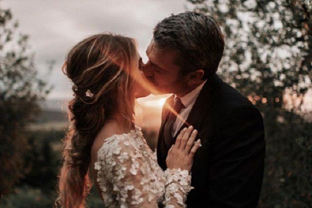 """luca-argentero-e-cristina-marino-sposi,-la-prima-foto-delle-nozze:-""""come-in-una-favola"""""""