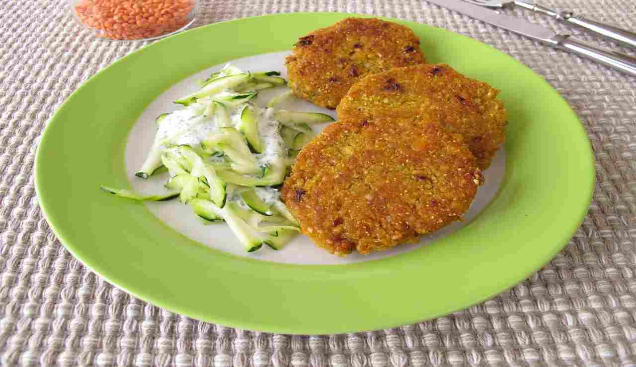 polpette-vegetariane-di-lenticchie-rosse-e-zucchine-|-croccanti-e-morbide