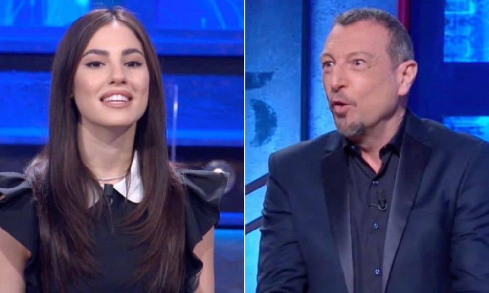 Giulia De Lellis a Sanremo 2022? La scelta di Amadeus, la verità