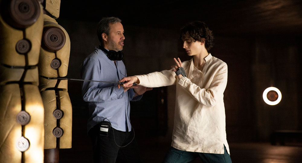 Timothée Chalamet and Denis Villeneuve on Overcoming Their Fears to Make 'Dune'